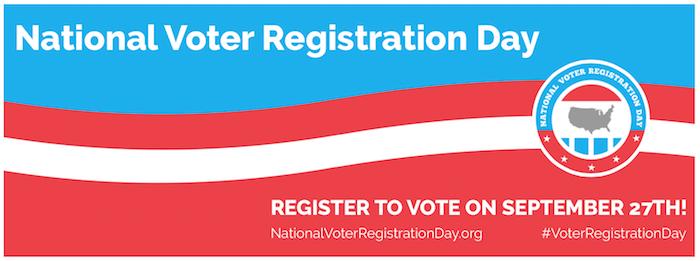 National Voter Registration Day 2016