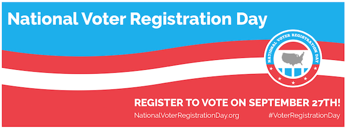 National Voter Registration Day 2016