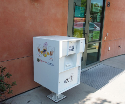 El Cerrito's Secure Drop Box